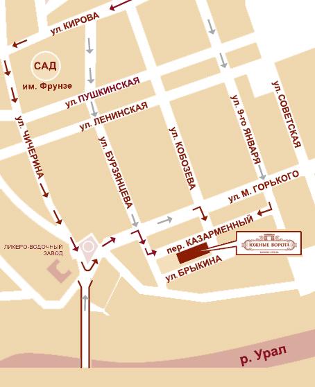 """...до остановки  """"Туркестанская """", далее, пешком согласно представленной ниже схемы проезда время в пути около 1 часа."""
