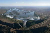 Полёт над водопадом Виктория