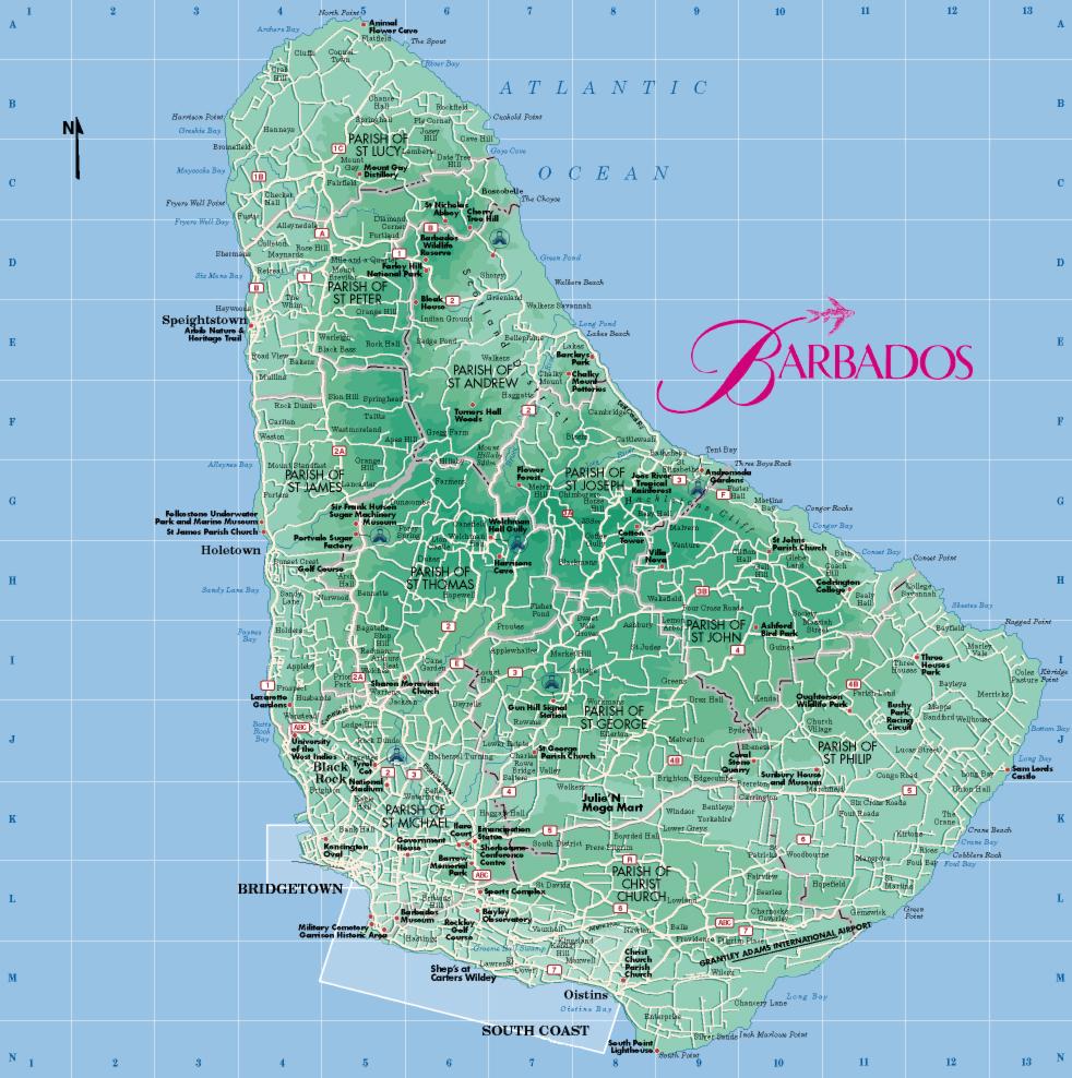 Острова Карибского Моря 110-brm